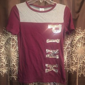 PINK by Victoria's Secret Tee T-shirt Top Size XS